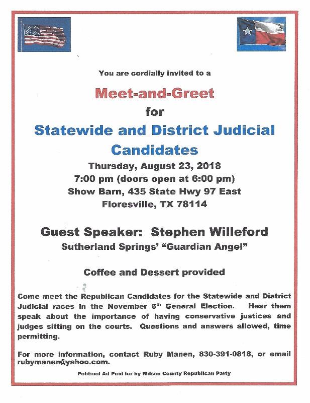Meet greet state and district judicial candidates meet greet 2018 m4hsunfo