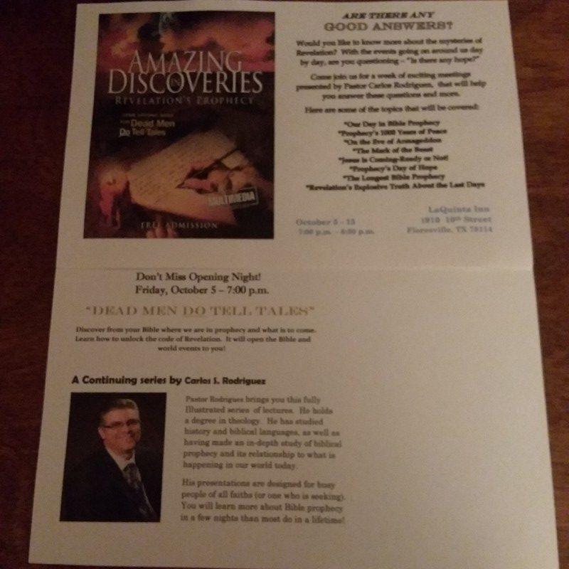 Amazing Discoveries Revelation's Prophecy